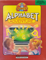 Cover of Cover of Qwerty's Alphabet Adventure, with Holly Duthie.